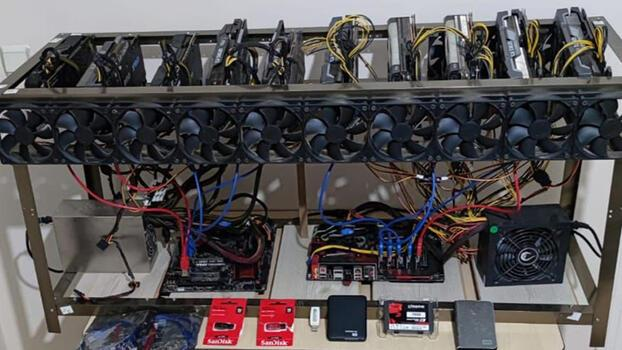 Yurt dışından kaçak getirdiği cihazlarla kripto para üreten şüpheliye gözaltı