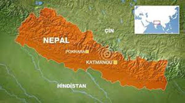 Nepal'de facia gibi kazak! Çok sayıda can kaybı var