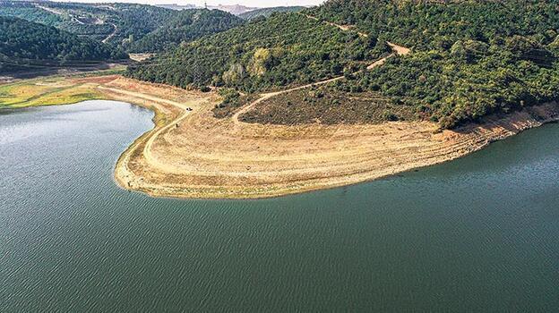Su seviyesi düştükçe planktonlar artıyor