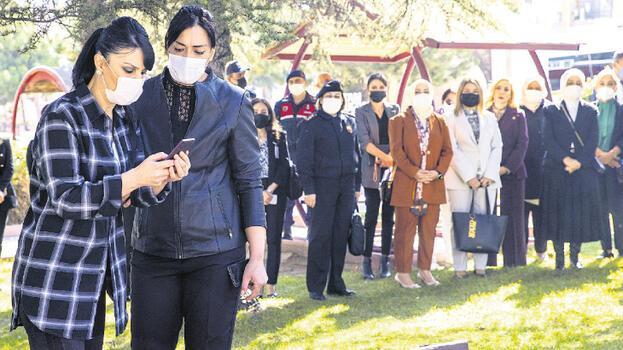 Kadına Şiddeti Araştırma Komisyonu, KADES tatbikatına katıldı
