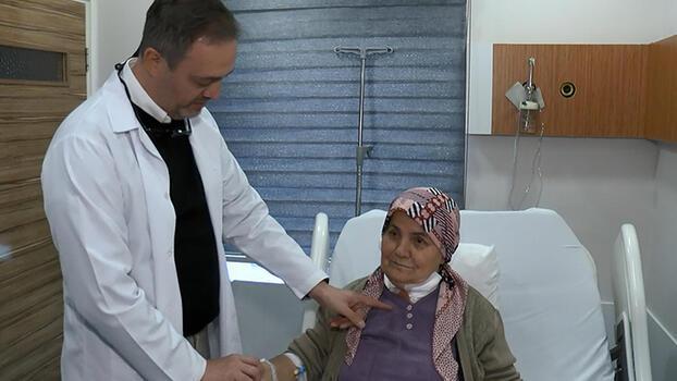 Şah damarlarına yapılan bypass ameliyatıyla sağlığına kavuştu