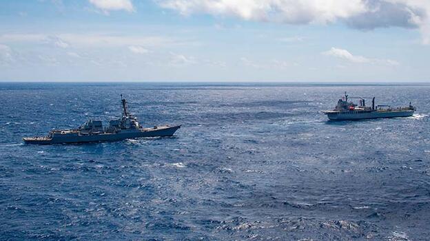 """Dört dev ülkeye ait donanmaların """"Malabar 2021"""" tatbikatı başladı"""