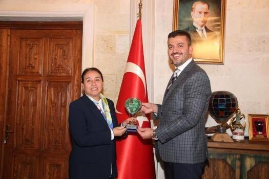 Başkan Aktürk, Asya Parlamenter AsamblesiTürk Grubu heyetini ağırladı