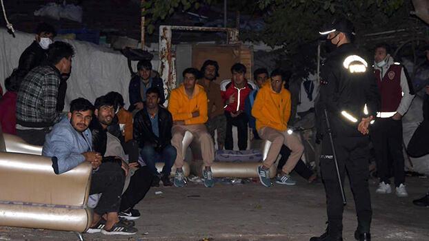 'Çekçek' ile atık toplayan yabancılara operasyon! 112 kişi gözaltına alındı
