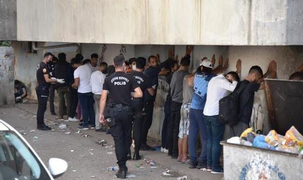 Polisten 'torbacı' operasyonu