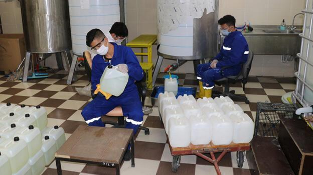 Karabük'te hijyen malzemeleri üreten lisenin yıllık cirosu 1 milyon lira
