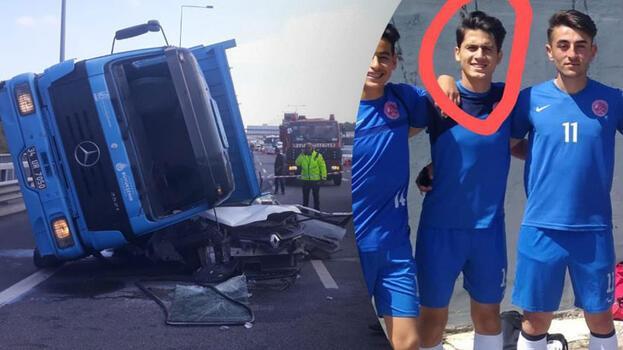 Beykoz'daki feci kazada ölen üniversiteli toprağa verildi
