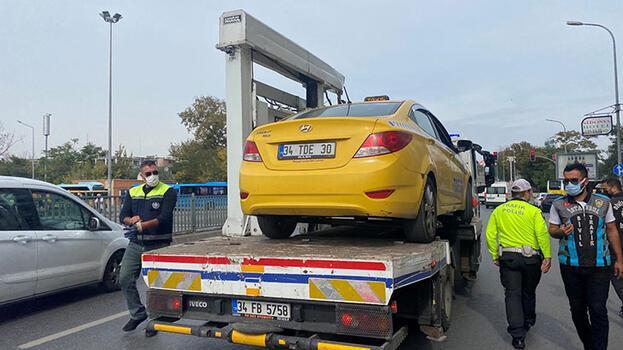 Kadıköy'de taksi denetimi