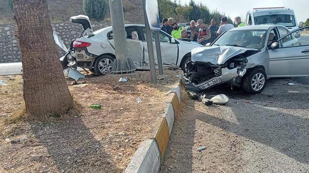 Adıyaman'da trafik kazasında 3 kişi yaralandı