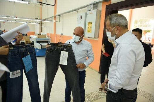 Belediyenin kurduğu tekstil atölyesinden Rusya'ya ihracat