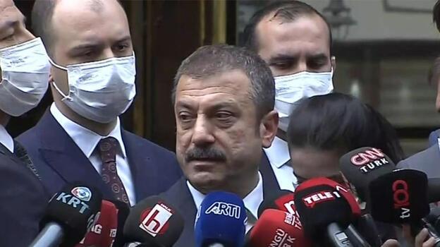 Kılıçdaroğlu'ndan Merkez Bankası'na ziyaret! Kavcıoğlu'ndan açıklama
