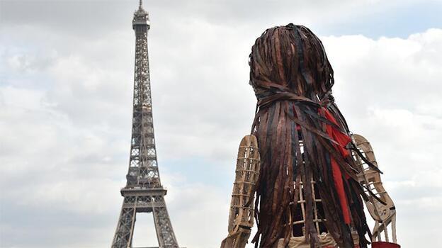 Yolculuğu Gaziantep'te başlamıştı! Paris'e geldi