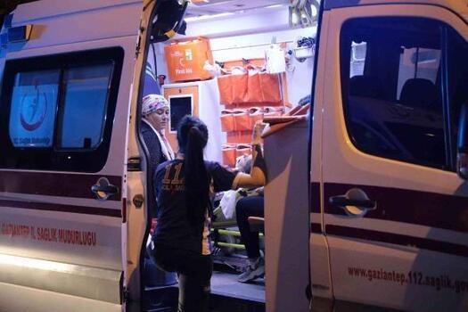 Gaziantep'te 2 halk otobüsü çarpıştı: 9 yaralı