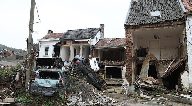 Belçika'daki felaketin izleri 3 aydır silinmedi