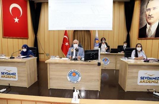 Akdeniz Belediyesi'nin 2022 mali yılı bütçesi kabul edildi