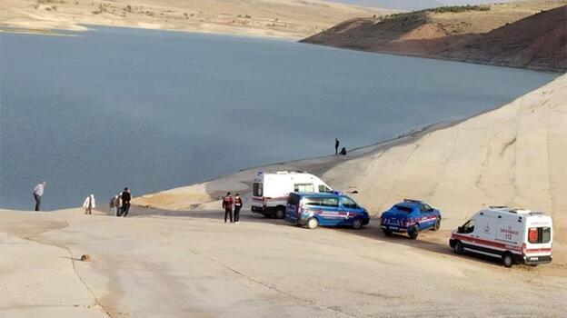 Baraj göletine düşen 2 çocuktan 1'i kayboldu