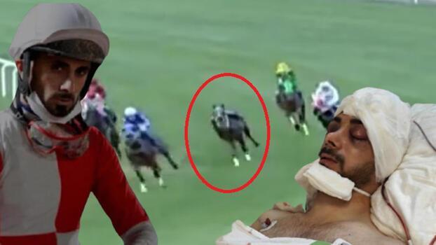 Attan düşerek ağır yaralanan jokey ilk kez konuştu! Jokeyliği bırakıyor mu?