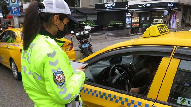 Son dakika… Türkiye genelinde vale ve taksilere yönelik denetim! 73 taksi trafikten men edildi