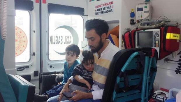 Adıyaman'da motosiklet devrildi: 2'si çocuk 4 kişi yaralandı