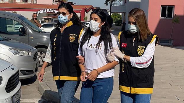 Hırsızlık yaptıkları iddiasıyla yakalanan 2 kız kardeşten biri tutuktandı