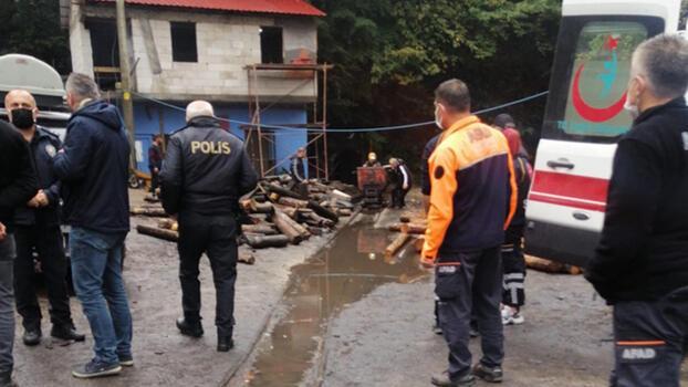 Son dakika... Zonguldak'ta kaçak maden ocağında göçük! 1 işçi mahsur kaldı