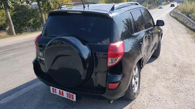 Kaymakam Mert Kumcu trafik kazası atlattı