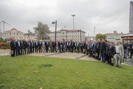 Başkan Bilgin, Muhtarlar Günü'nü 65 mahalle muhtarıyla kutladı