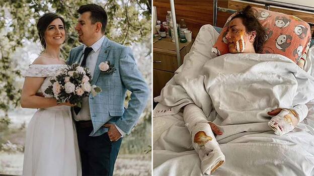 Yeni evli çiftin balayında dehşet! Başlarına gelen şoke etti...