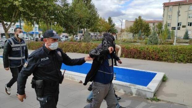 Kırşehir'de inşaat malzemesi çalan 3 kişi tutuklandı