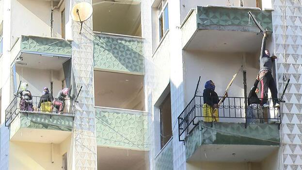 Avcılar'da kentsel dönüşüm için boşaltılan bina hırsızların hedefi oldu