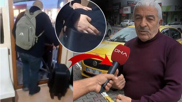 İstanbul'da taksinin bagajında içinde 1 milyon 800 bin lira bulunan valiz unutuldu