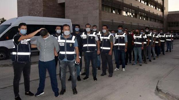 Antalya'da suç örgütü 'Kartal Grubu'na operasyon: 16 gözaltı
