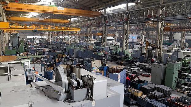 Makine ihracatı 17 milyar dolara ulaştı