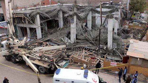 Son dakika! Ankara'da inşaatta göçük: 3 yaralı