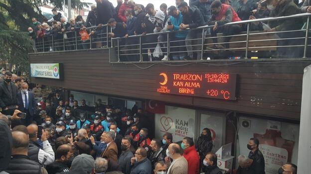 Trabzon'u karıştıran olay! Polis gerginliği önledi