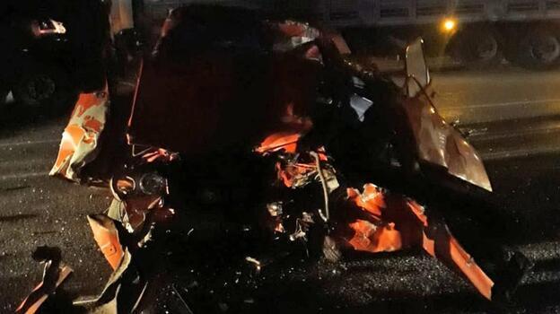 Otomobilin TIR ile çarpışması sonucu 1 kişi öldü