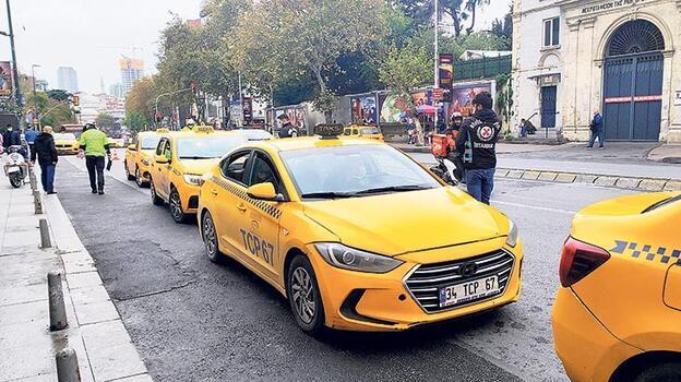 Taksi plakasında hisse devri bitti