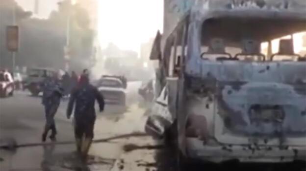 Şam'da otobüste patlama! Çok sayıda ölü ve yaralı var