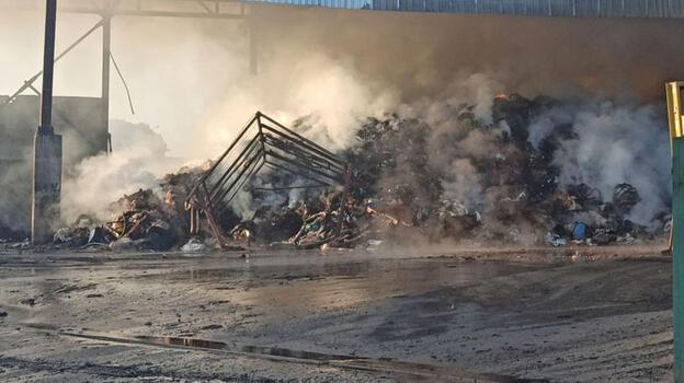 Son dakika! Osmaniye'de fabrikada yangın