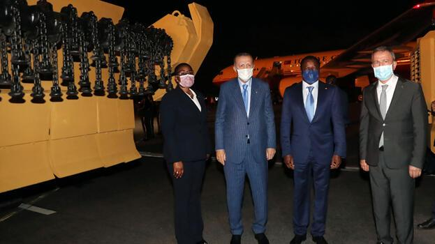 Togo'ya 2 adet mayın temizleme aracı teslim edildi