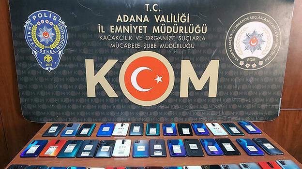 Adana'da kaçakçılık operasyonu: 20 gözaltı