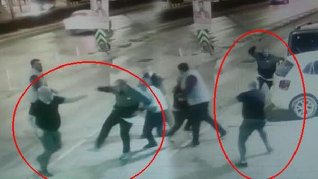 Gece kulübünden 'kadın çıkarma' çatışması! Görüntüler ortaya çıktı