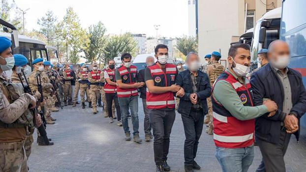 Diyarbakır'da narkoterör operasyonu! 15 kişi tutuklandı