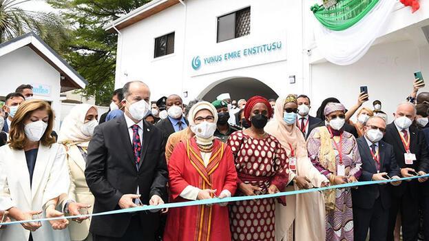 Emine Erdoğan, Nijerya'da Yunus Emre Enstitüsü açılış törenine katıldı