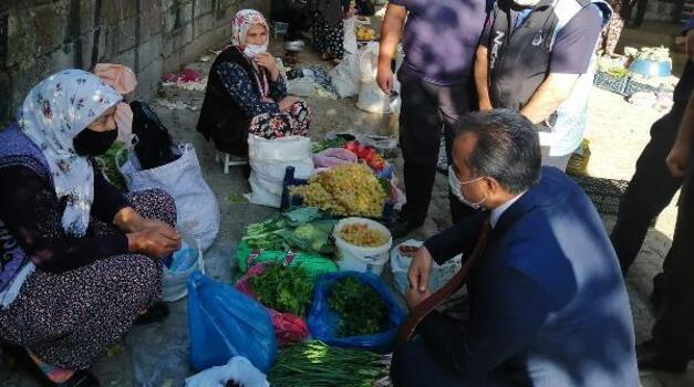 Kaymakam Anteplioğlu'ndan semt pazarı ziyareti