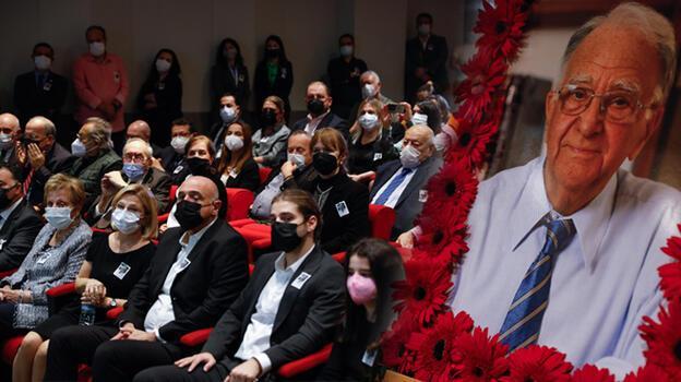 Gazeteci Sami Kohen için Demirören Medya Center'da tören