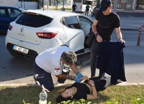Serik'te trafik kazası: 1 yaralı