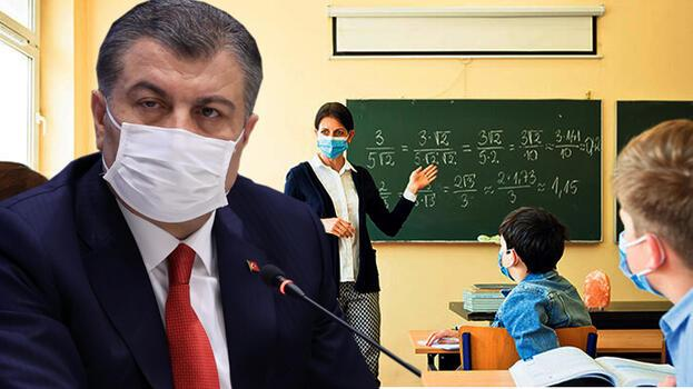 Son dakika: Okullar açık kalacak mı? Bilim Kurulu sonrası Bakan Koca'dan çok net yüz yüze eğitim açıklaması
