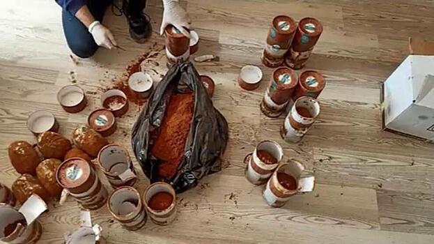 Kahve kutularına gizlenen esrarı 'Asil' buldu
