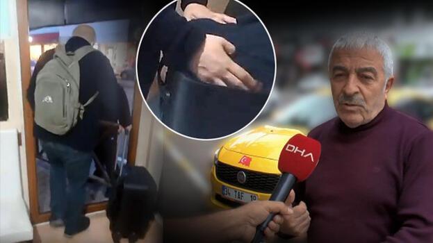 Sarıyer'deki para dolu valiz olayı taksicilerin oyunu çıktı